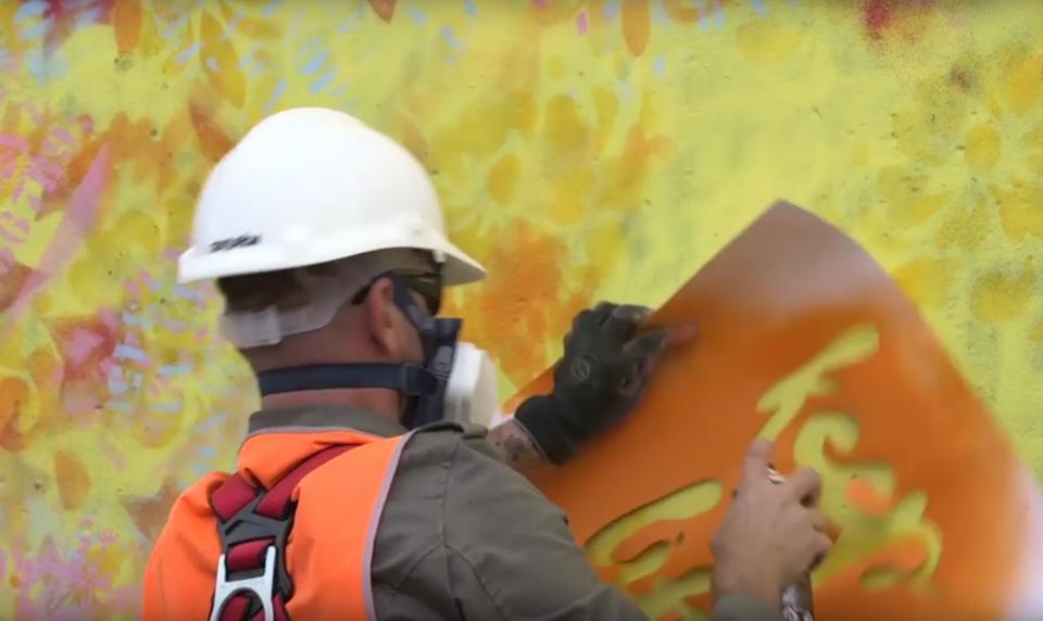 Le street art pour parler des déchets radioactifs