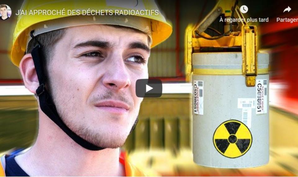 Le youtuber ANONIMAL parle des déchets radioactifs