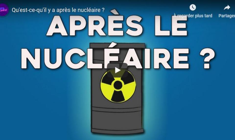Le youtuber Dave Sheik parle des déchets radioactifs