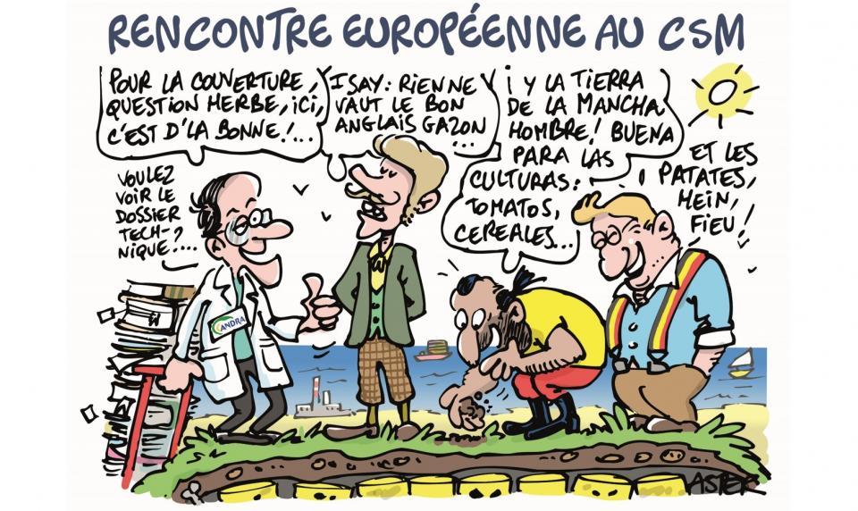 Rencontre européenne au CSM