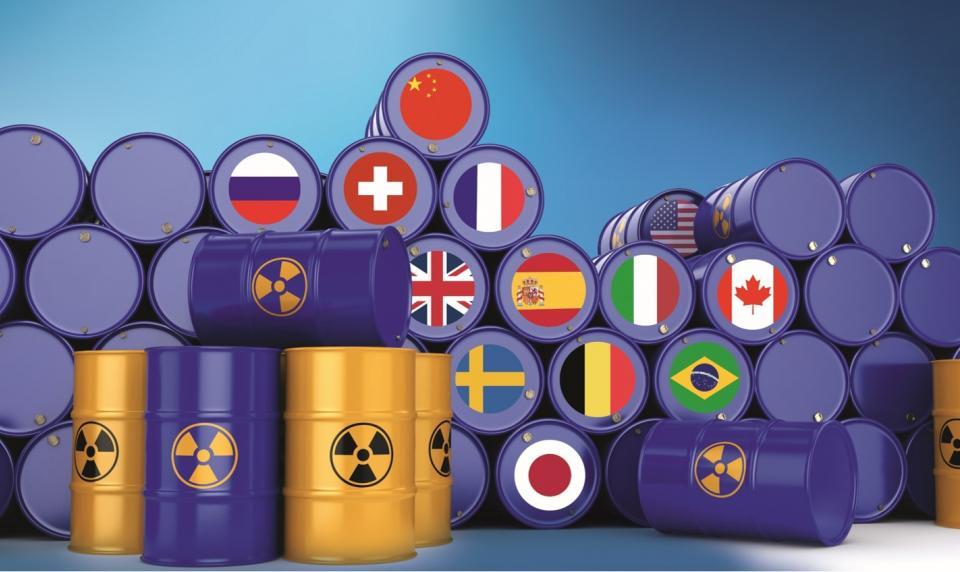 Stockage des déchets radioactifs: la situation à l'international