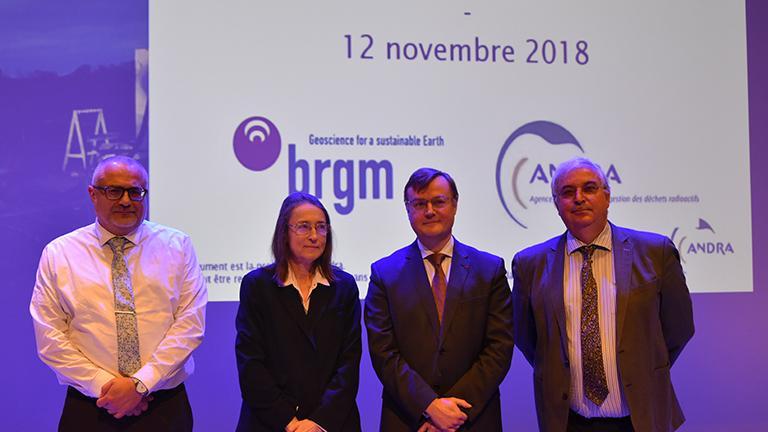 L'Andra et le BRGM renouvellent leur partenariat de R&D